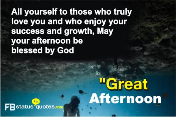 Good Afternoon english quotes