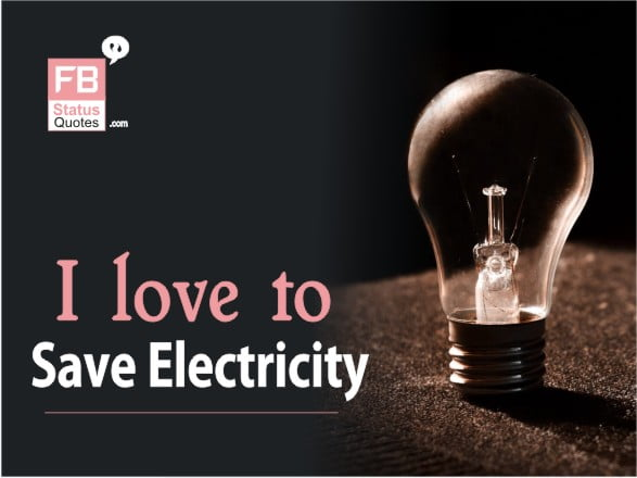Best Save Electricity Slogans
