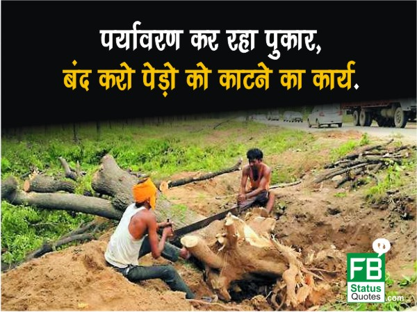 Slogan On Environment hindi