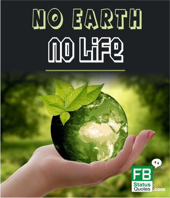 best slogan on save earth
