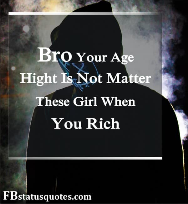 Bro Your Age, Hight Is Not Matter