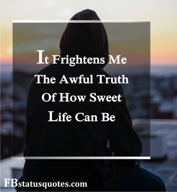 It Frightens Me, The Awful Truth