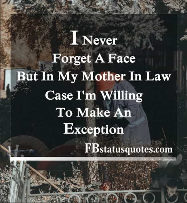 Mother In Law Status In English