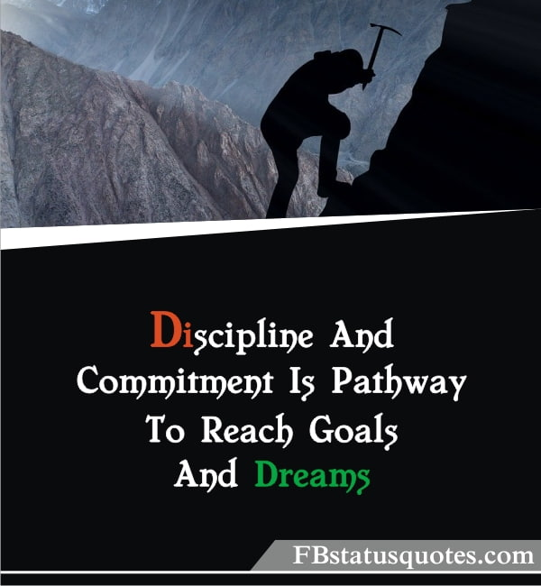 Quotes On Discipline » Discipline And Commitment
