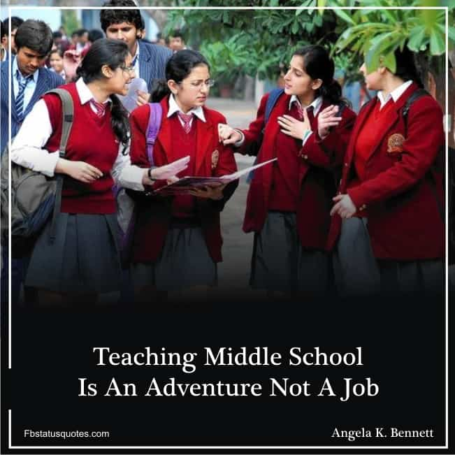 School Life Images With Quotes