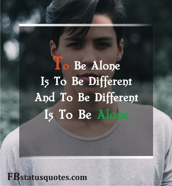Don't Be Afraid To Walk Alone Quotes