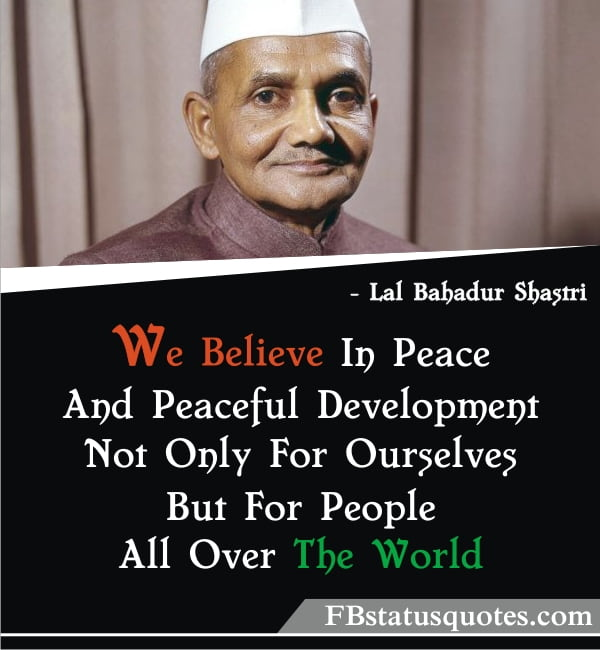 Quotes On Republic Day » We Believe In Peace