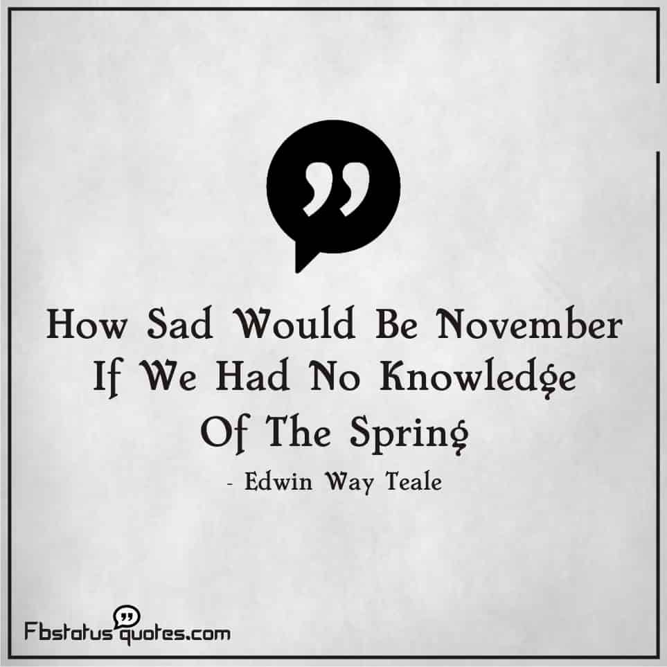 november quotes Images