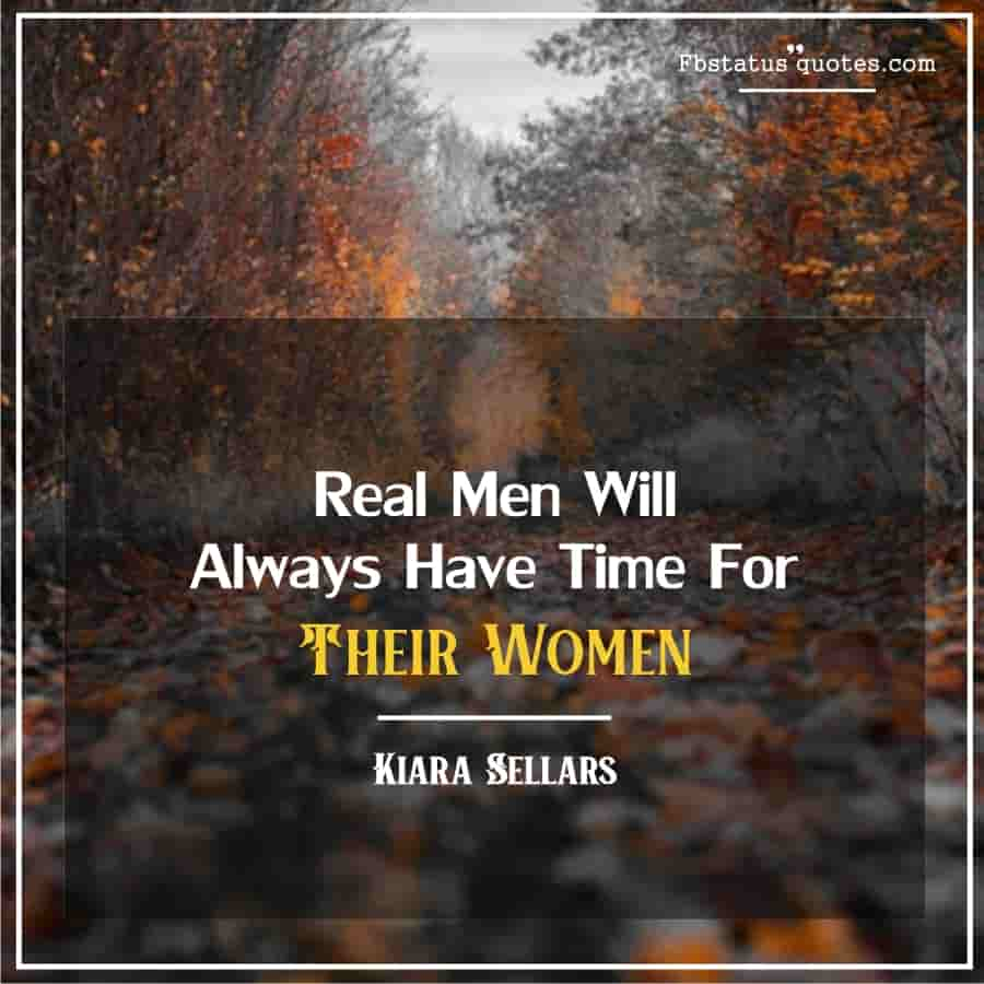 A real man respects a woman Quotes