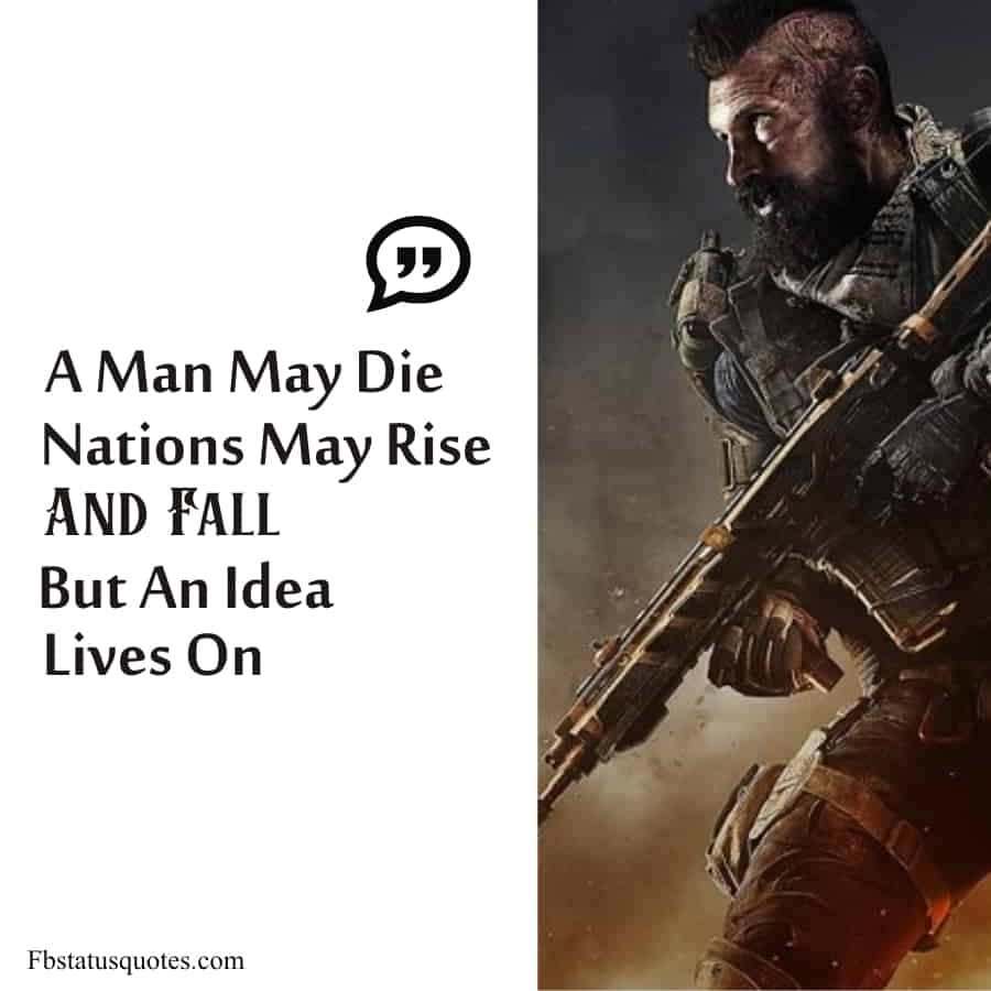 Call of Duty Cold War Quotes