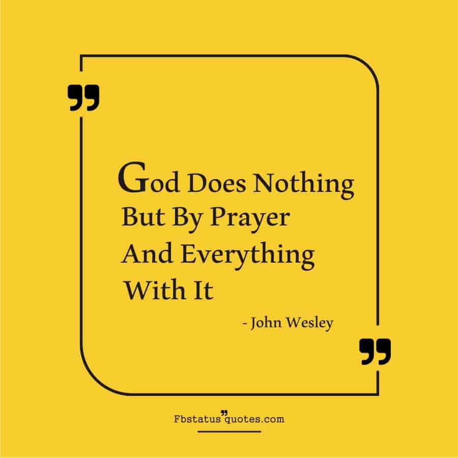 Cool Power Of Prayer Quotes