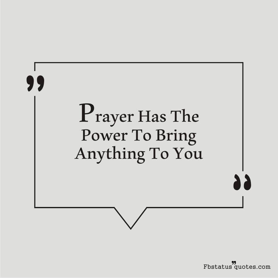 Great Motivational Power Of Prayer Quotes