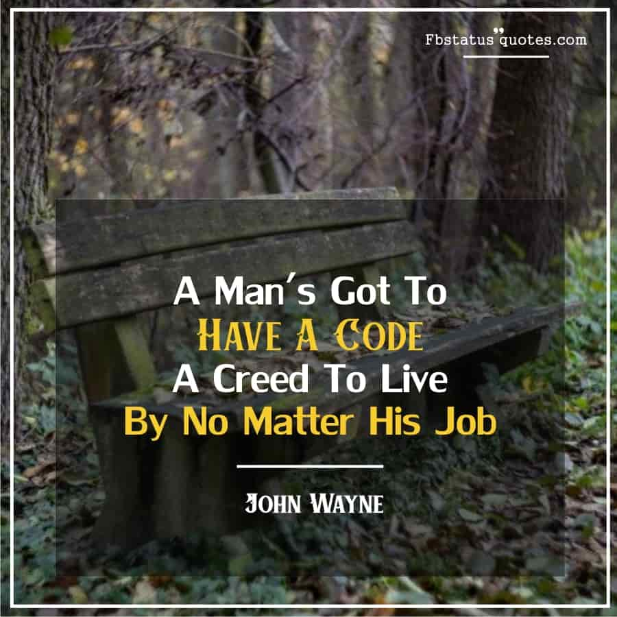 Latest Real Man Quotes
