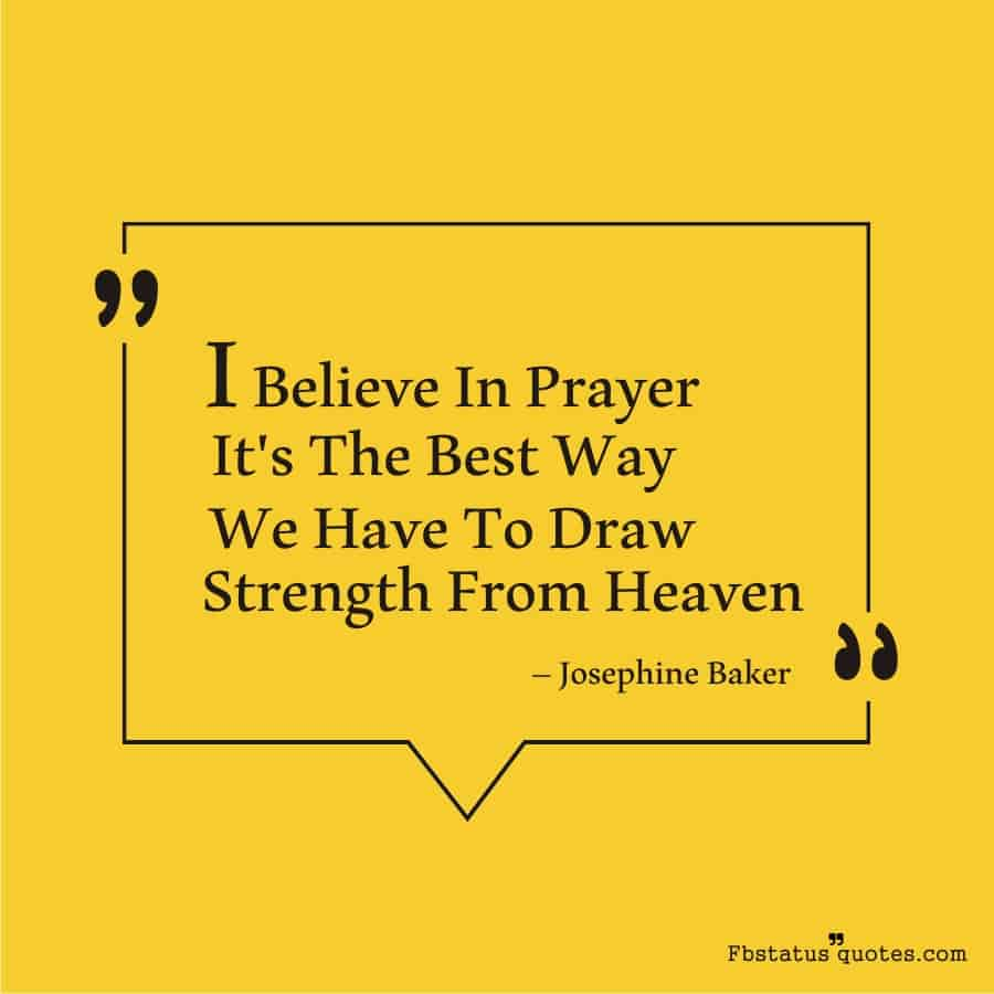 Motivational Power Of Prayer Quotes