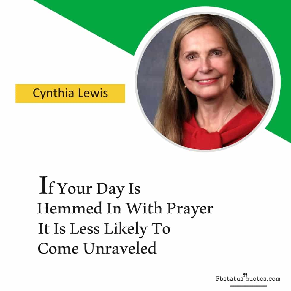 Power Of Prayer Quotes And Sayings