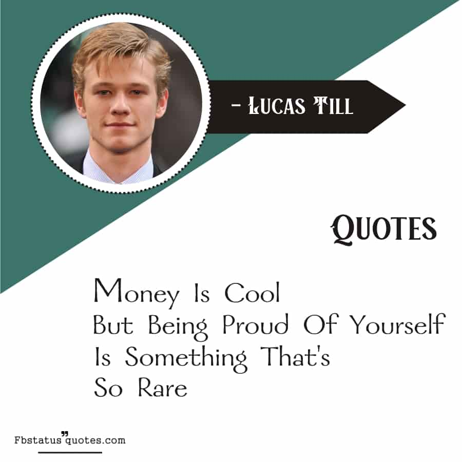 Proud Quotes For self