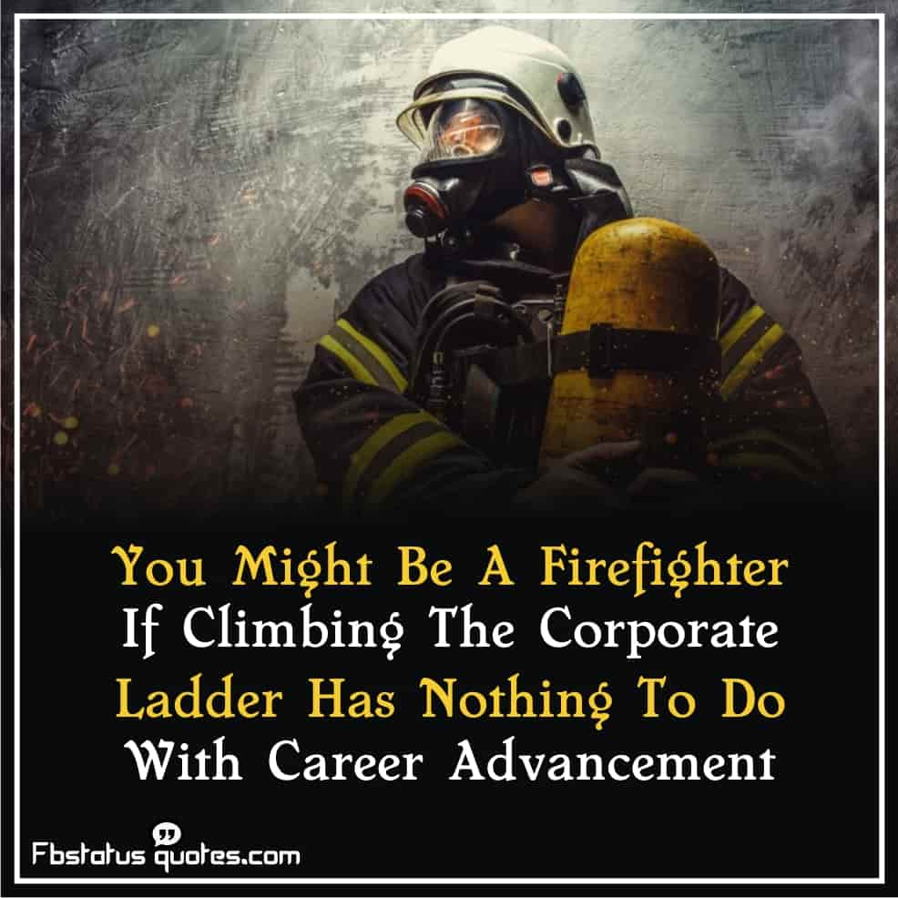 Thank firefighter Quotes