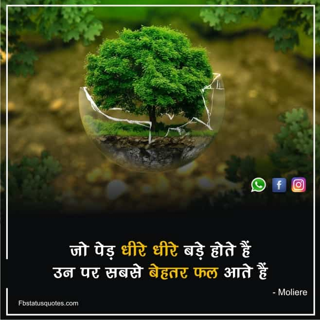 Lovely Nature Quotes In Hindi